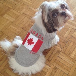 Canadense desde criancinha