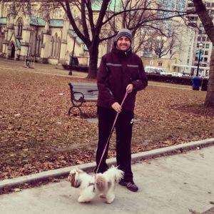 O primeiro passeio em Toronto